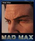Mad Max Card 6