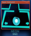 Neon Space Card 5