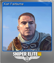 Sniper Elite 3 Foil 8