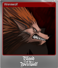 Blood of the Werewolf Foil 8