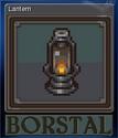 Borstal Card 1