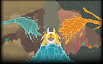 PixelJunk Shooter Background WaterAndLava