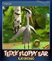 Teddy Floppy Ear Kayaking Card 4