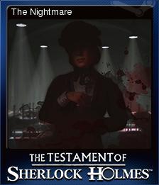 The Testament of Sherlock Holmes Card 4