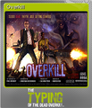 The Typing of the Dead Overkill Foil 06