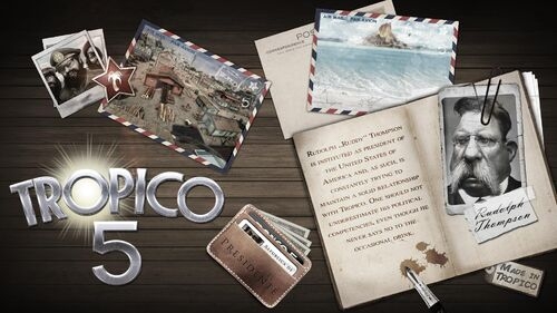 Tropico 5 Artwork 6