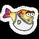 Blowy Fish Badge 1