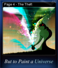 But to Paint a Universe Card 02