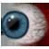 Fran Bow Emoticon blueeye