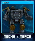 Mechs Mercs Black Talons Card 6