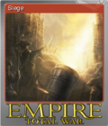 Empire Total War Foil 6