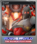 Robo's World The Zarnok Fortress Foil 4