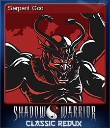 Shadow Warrior Classic Redux Card 4