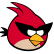 Angry Birds Space Emoticon RedBird