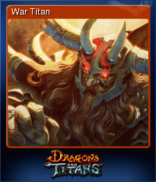 Dragons and Titans Card 5