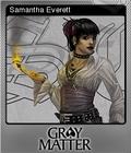 Gray Matter Foil 1