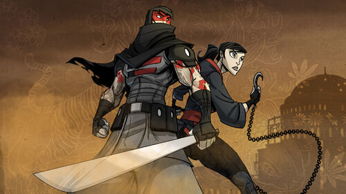 Mark of the Ninja Artwork 2