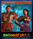 Orcs Must Die! 2 Card 7
