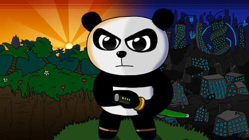 Super Panda Adventures Artwork 1