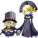 BlazBlue Calamity Trigger Emoticon Carl