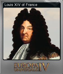 Europa Universalis IV Foil Louis XIV of France