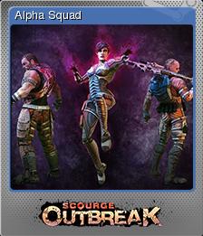 Scourge Outbreak Card 09 Foil