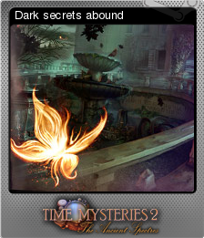 Time Mysteries The Ancient Spectres Foil 2