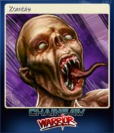 Chainsaw Warrior Card 5