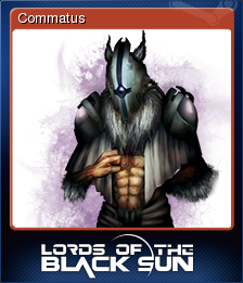 Lords of the Black Sun Card 5