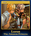 Loren The Amazon Princess Card 3