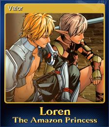 Loren The Amazon Princess Card 3