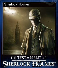 The Testament of Sherlock Holmes Card 1