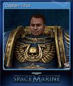 Warhammer 40,000 Space Marine Card 4