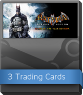 Batman Arkham Asylum Game of the Year Edition Booster Pack