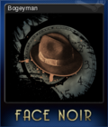 Face Noir Card 7