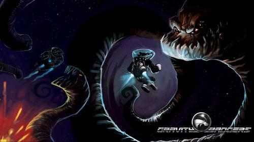 Gravity Badgers Artwork 6