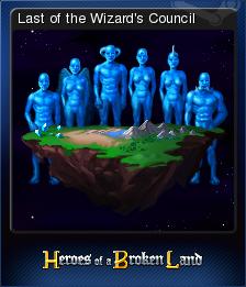 Heroes of a Broken Land Card 8