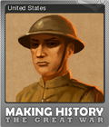 Making History The Great War Foil 8