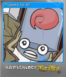 BattleBlock Theater Foil 9