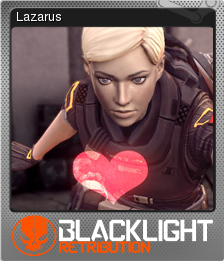Blacklight Retribution Card 05 Foil