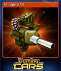 Burning Cars Card 1