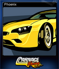Carnage Racing Card 6