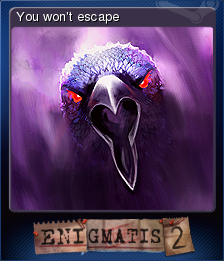 Enigmatis The Mists of Ravenwood Card 3