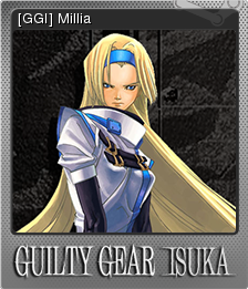 Guilty Gear Isuka Foil 07