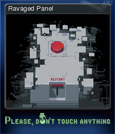 Please Don't Touch Anything Card 1