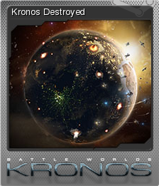 Battle Worlds Kronos Foil 7