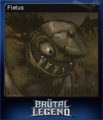 Brutal Legend Card 8