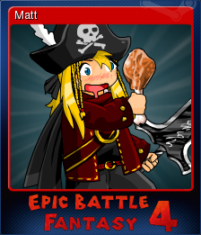 Epic Battle Fantasy 4 Card 02