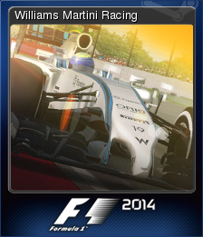 F1 2014 Card 11 old