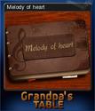 Grandpa's Table Card 10